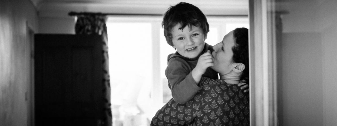 Family Life Photography, Earlston Boy and Mum